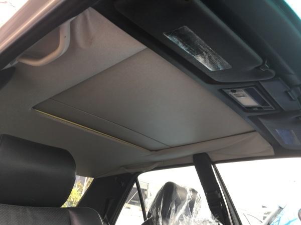 天井張替え ベンツE400(W124)