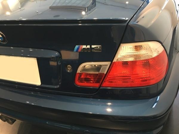 レザーシート 擦れ・ひび割れ補修 BMW M3