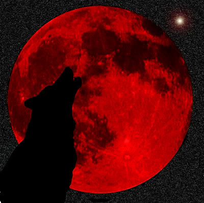 blood-moon-werewolfBloody moon July 2018