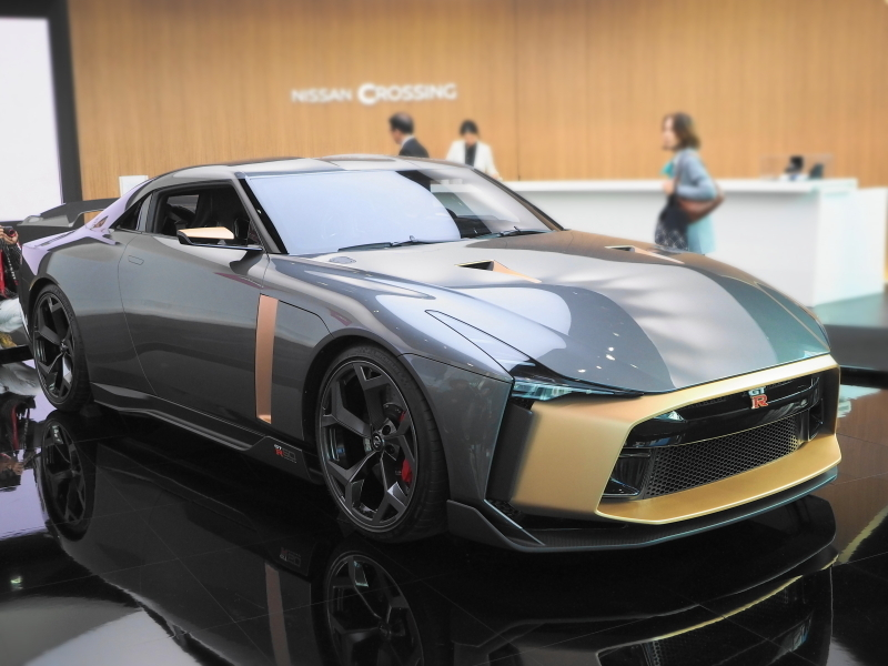 NISSAN CROSSING_GT-R50