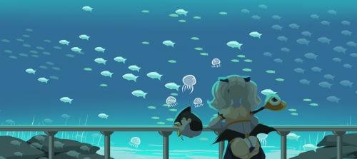 水母很可愛