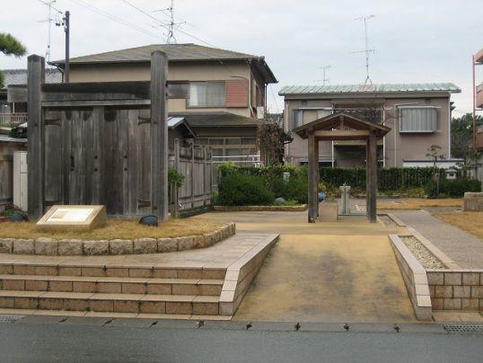 061212袋井宿本陣跡