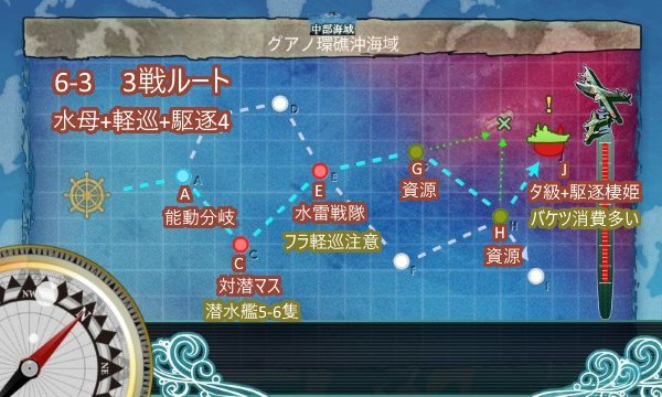 6-3進撃ルート