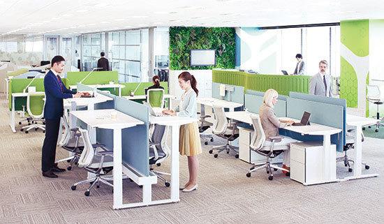 オカムラ オフィス家具