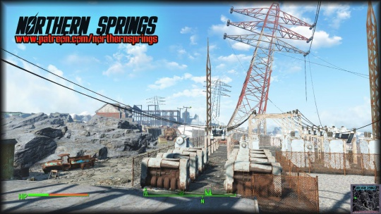 Fallout 4 Northern Springs Worldspace DLC