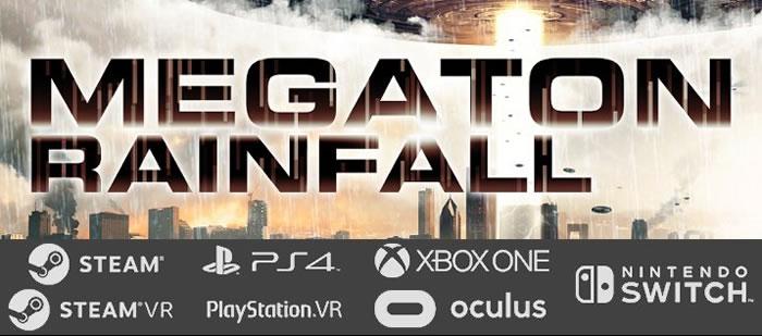 PS4独占のPSVRタイトル『Megaton Rainfall』がスイッチとXbox One向けに発売決定!