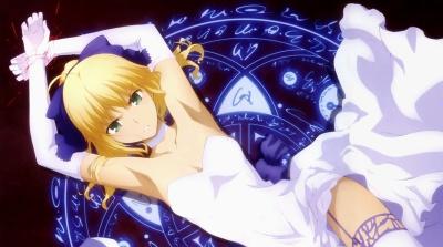【Fate】ドレス姿で囚われていたアルトリアさんの可愛いさと美しい輝きいいよね