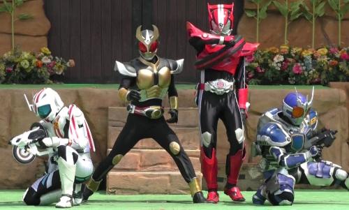 【HD】新作 仮面ライダードライブ ショー 仮面ライダーアギト・仮面ライダーG3