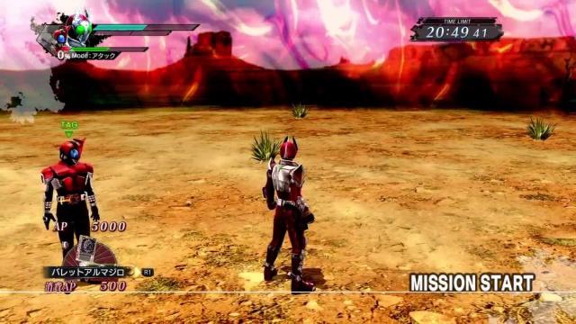 仮面ライダー バトライド・ウォー 創生 PS4版 タイムサバイバル 踏み沈める悪魔