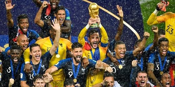 ワールドカップ、フランス優勝