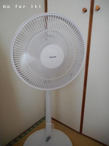 扇風機 180720
