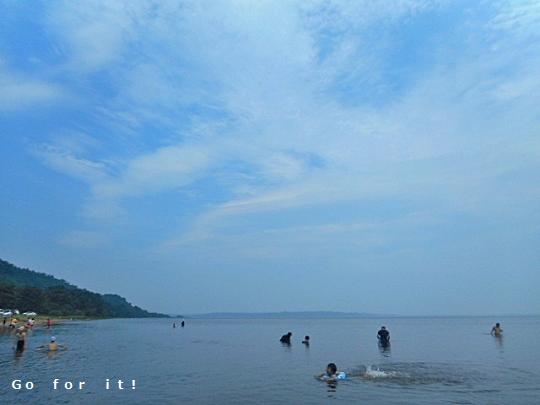 湖水浴 180803