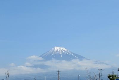 5/11の富士山