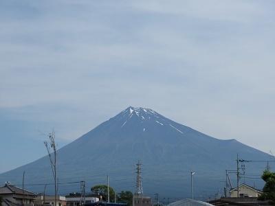 富士山2018.5.21