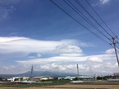 富士山と雲2