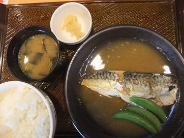 ガスト鯖味噌煮