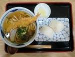天ぷらうどん定食@新大正庵