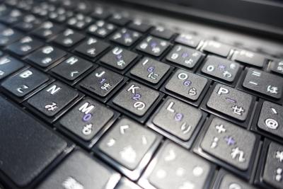 ノートパソコンのキーボードが故障