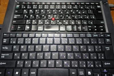 外付けのUSBキーボード