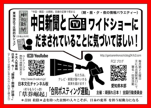 00 blog ポスティング運動