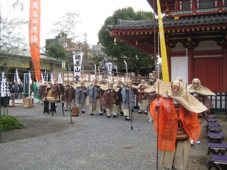 僧兵の行列