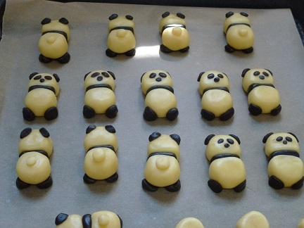 パンダクッキー