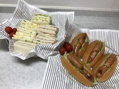 サンドイッチ&ホットドッグ