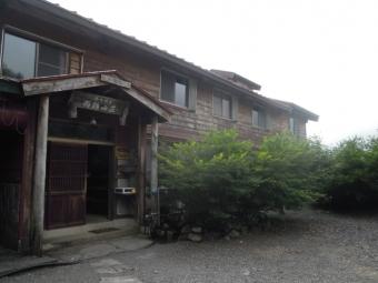 雨飾り山荘180727