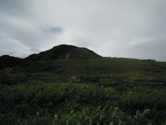 笹平から雨飾り山180728