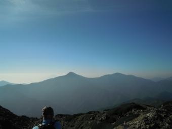 富士山、北岳180805