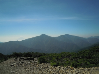 富士山、北岳1、2、3の山180805