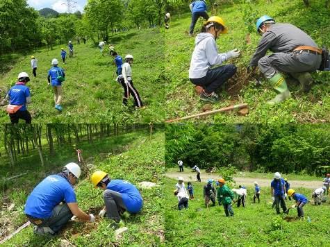 ブラザーの森・植栽活動
