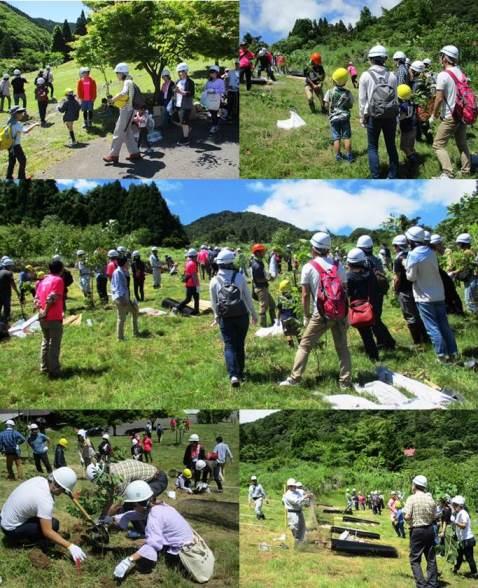 OKB森林共和国・植樹活動