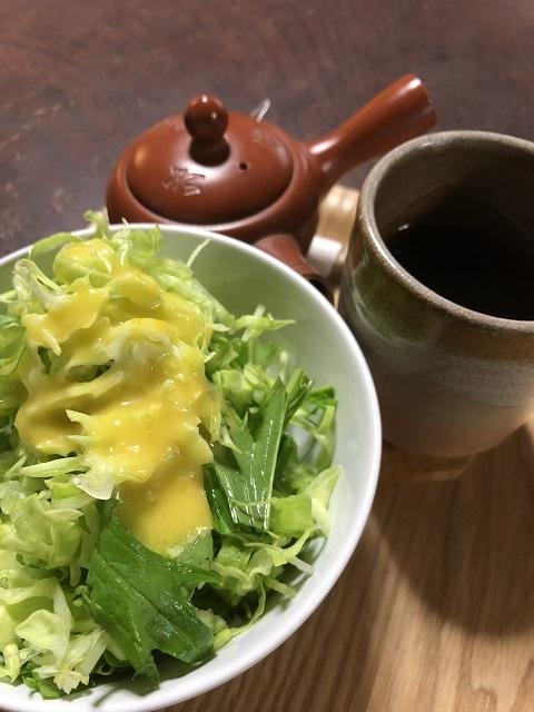 古民家カフェ わだや サラダ