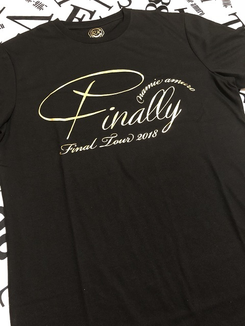 セブンネット限定 namie amuro Final Tour 2018 ~Finally~ 「NAMIE AMURO×ONE PIECE」 コラボツアーTシャツ(BLACK)1
