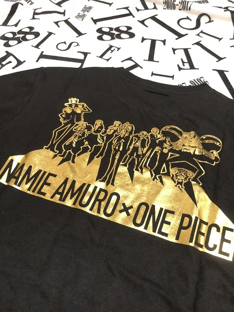 セブンネット限定 namie amuro Final Tour 2018 ~Finally~ 「NAMIE AMURO×ONE PIECE」 コラボツアーTシャツ(BLACK)2