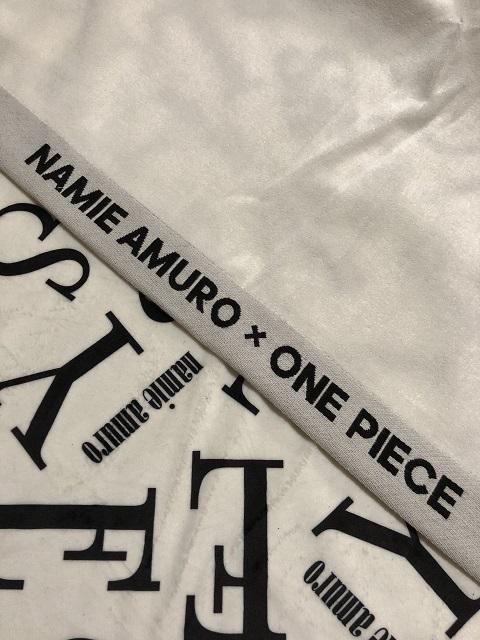 セブンネット限定 「NAMIE AMURO×ONE PIECE」 コラボバスタオル2