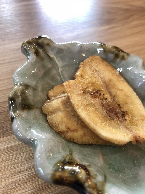 カフェ ナッツ オウルムーン バナナチップス
