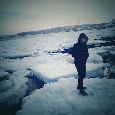 成山さん氷