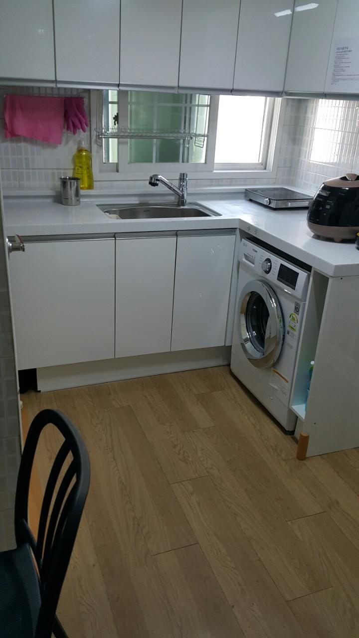 ロハス共同キッチン洗濯機