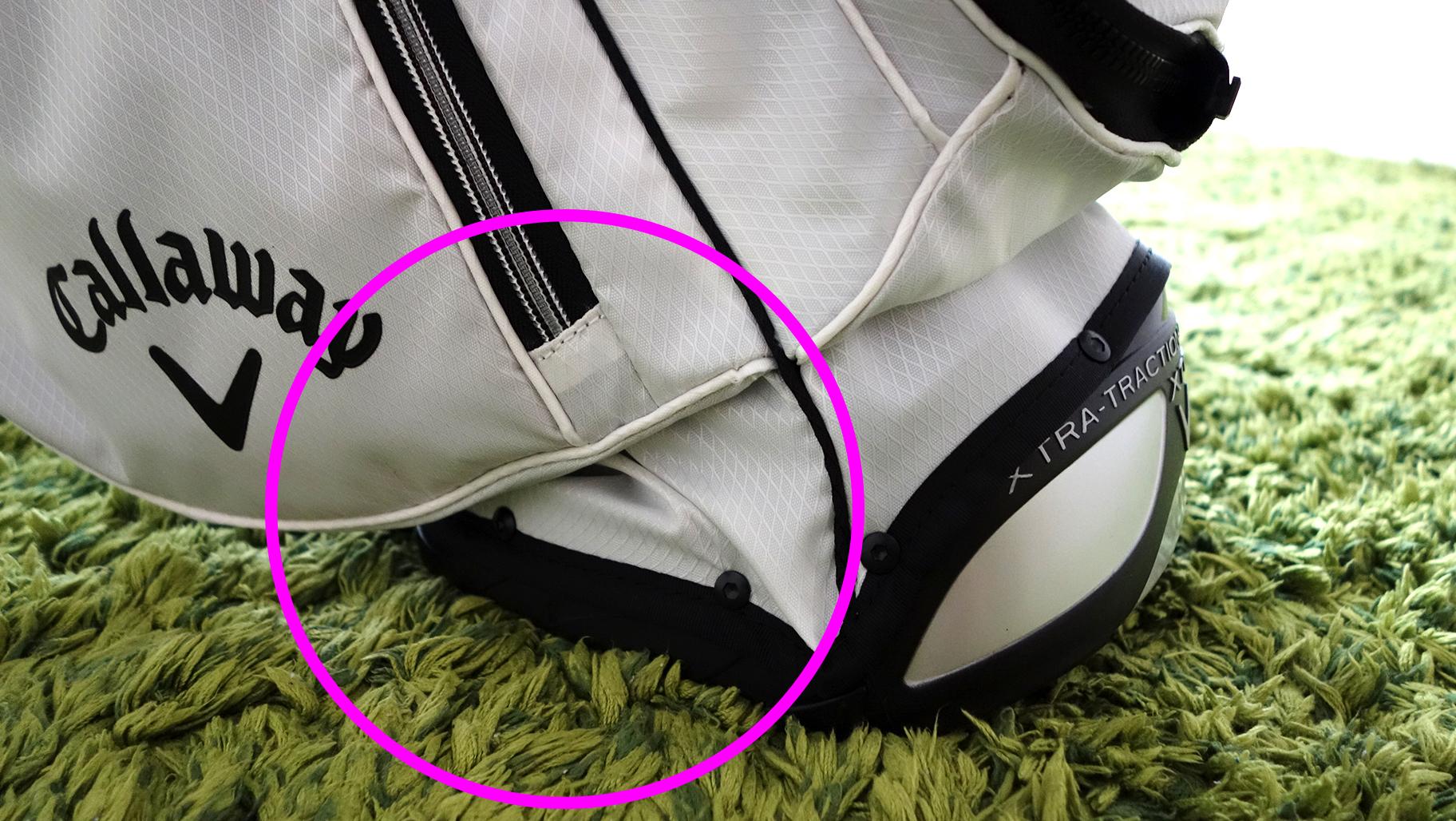 callaway evian masters model 3.0 golf bag