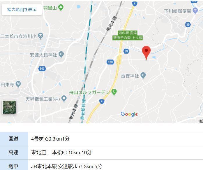 二本松市小沢工業団地3