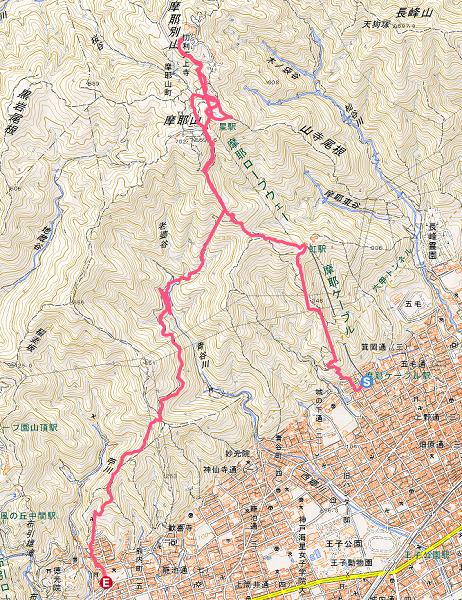 上野道から掬星台