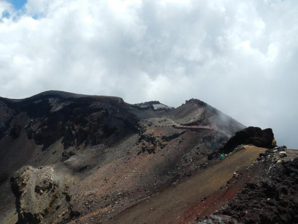 富士山 042朝日岳・駒ケ岳・三島岳