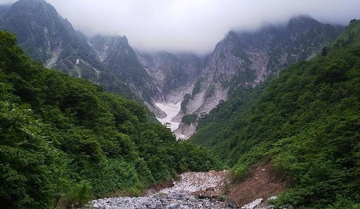 20180627谷川岳一ノ倉沢
