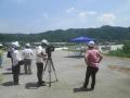 NHK大分放送局が熱中症対策の取材にやって来ました。