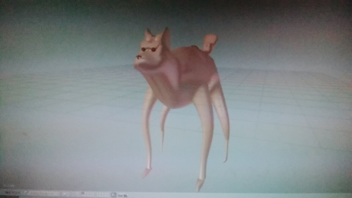 作りかけの犬2