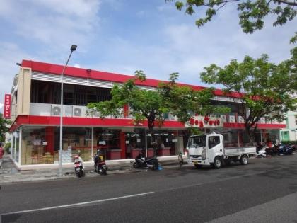 フルマーレ島のスーパー