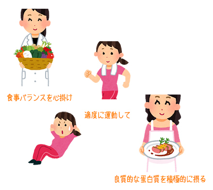 健康生活♪