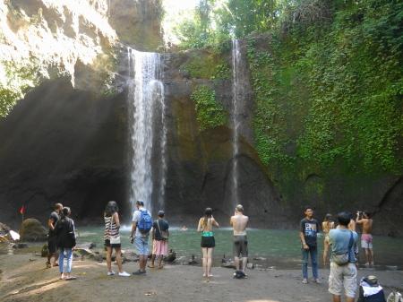 ティブマナの滝全景